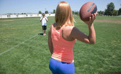Perfect Fucking Strangers Krissy Lynn Krissy Lynn Is Stretching At The Park And Is Horny And Decides To Have Hot Sex With A Perfect Fucking Stranger.