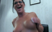 MILF Lessons Cute Thin Mom Shows Her Hairy Cunt