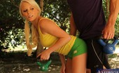 Naughty Athletics Elaina Raye Sexy Blonde Teen Babe Has Sex With Her Trainer.