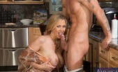 My Friend's Hot Mom Julia Ann Busty Blonde MILF Julia Ann Has Hot Sex In The Kitchen With Big Cocked Friend.