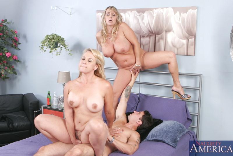 Busty Step Mom Threesome