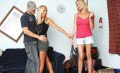 My Friend's Hot Mom Bridgett Lee 2 Hot MILFs Have Threesome With One Lucky Guy.