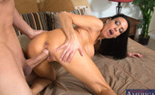 My Friend's Hot Mom Vanilla DeVille 166537 Busty Brunette Vanilla DeVille Seduces One Of Her Son'S Friends And Rides Him On Her Bed.
