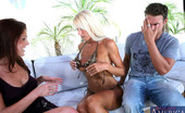 My Friend's Hot Mom Bianca Noble Bianca Noble & Shayne Ryder Have Hot Threesome With Lucky Big Cock.