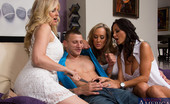 My Friend's Hot Mom Ava Addams Ava Addams, Brandi Love &Amp; Julia Ann Are All Horny For One Lucky Guys Cock So They Have Hot Orgy.