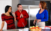 My Friend's Hot Mom Gulliana Alexis 166632 It'S Our 6000th Scene Here At Naughty America And To Celebrate We Bring You Deauxma Making 6000 Cupcakes. Her Cupcake Making Is Interrupted Though When Her Son'S Friend'S, Johnny And Gulliana, Stop By To Visit On Their Break From College. D