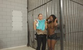 Caged Tushy Busty Asian Woman Gets An Anal Search