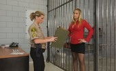 Caged Tushy Prison Guard Sticks Her Finger Up A Girl'S Ass