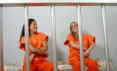 Caged Tushy Four Naked Girls Have A Lesbian Orgy In Jail