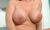 Busty Britain British Babe Cherry B Shows Her Massive Juggs And Dildo Fucks