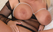 Busty Britain Cherry B Plays With Juggs And Teases Cunt With Vibrating Toy