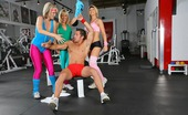 CFNM Secret Kimberly 3 Amazing Hot Workout Babes Tie Down A Dude And Force Him To Fuck Them In The Gym In These Hot Pics And Big Movie Update