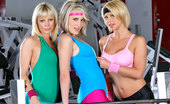CFNM Secret Kimberly Hot Long Leg Big Tits Workout Gym Instructors Get Fucked In The Gym In This Group Sex Masturbation And Chained Up Fucking School Party