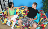 Club Tug Horny Lil Fucker Horny Babe Jerking Off Her Step Brother