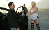 Her First DP Claudia Downs Claudia Was On Her Way To A Bachelor Party When The Car Died. Perfect Time For John And Brad To Lend A Hand, But How To Pay For The Parts? Hmm... Seems That Claudia Has The Perfect Solution To Make Everyone Happy. Cum Watch As She Blows, And Rides These T