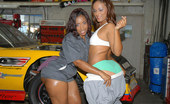 Extreme Asses Mia Chk Out Mia And Her Amazing Mega Ass Watch These Two Hot Ebony Babes Get It Hard In The Garage