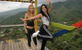 Tania Spice And Gigi Have A Good Time On The Chinese Ladder