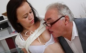 Tricky Old Teacher Anastasia This Dirty Old Teacher Is In An Amazing Position Of Power Over His Student As She Asks For A Second Chance On Her Test. He'Ll Get To Fuck Her Before He Gives Way To Her Request!