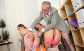 Tricky Old Teacher Leyla 169133 This Tricky Old Teacher Wouldn'T Change His Job For The World Now That He Has Access To The Hottest Babes On The Planet, At Just The Right Age. Watch Him Fucking Them Nice And Hard And Getting His Cock Sucked By The Two Of Them At The Same Time!