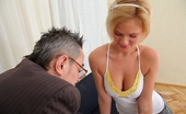 Tricky Old Teacher Shelly When Shelly Spends A Little Extra Time With Her Teacher She Soon Realises What A Tricky Old Bastard He Really Is!It'S Not Long Before He'S Got His Cock Out And She'S Stripping Off For A Nice Fuck