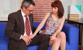 Tricky Old Teacher Elena Elena Shows Off Her Young Sexy Body, Exposes Her Young Delicate Breasts, And Pulls Out Her Teachers Cock And Will Show Him That Her Grade Can Improve With A Little Fun And Non Studying.