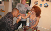 Sell Your GF Huge Black Cock For Her Hugecocked Black Man Is Banging Holes Of Very Sex Appeal Curly Redhead Hottie. They Are Having Sex Right On Eyes Of Boyfriend Of The Girlie. The Very First Thing Babe Does – Is Kneeling And Playing With Chocolate Monster Cock. She Stands In Different Po