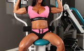 Aziani Iron Elisa Ann Elisa Ann Costa Shows Off Her Big Strong Muscles And Vascularity In The Gym Naked!