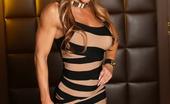 Aziani Iron Farrah Foxxx 170339 Sexy, Fit Farrah Foxxx Strips Off Her Tight Dress To Show Us Her Tight Body.