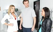 Doctor Adventures Bree Olson Care To Donate Some Fluid? When Mark Walks Into Naughty Nurse Bree'S Blood Clinic, Little Does He Know That She Plans On Making...