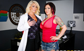 Doctor Adventures Claire Dames & Alura Jenson 170539 We Can Fit You In Claire Is Patiently Waiting For An Appointment With Dr. Jensen, And She'Ll Do Whatever It Takes To G...