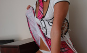 Diddylicious Diddys A School Girl Showing Off Whats Under Her Skirt