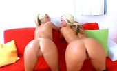 Big Mouthfuls Two Gorgeous Blonde Asses, Who Are Hungry For Sex And Crave To Have Their Mouths Filled With Jizz.