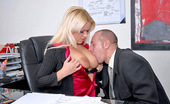 Big Tits Boss Tamara Hot Big Titstamara Calls Her Employees To The Office For Some After Hour Sex