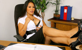 Big Tits Boss Jessica Check Out Sexy Long Log Big Tits Babe Jessica Bangcock Get Nailed Hard On Her Office Desk For A Business Loan In These Hot Pics