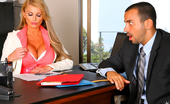 Big Tits Boss Taylor Watch This Hot Big Tits Babe Interview A Horny Boy And Ask Him To Get Naked And Fuck Her On The Office Table In These Hot Pics