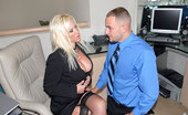 Big Tits Boss Dawson Piercing Blue Eyed Big Tits Hot Ass Blonde Gets Drilled Hard Against The Office Desk In These Hot Fucking Pics