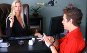 Big Tits Boss Brooke Check Out This Stacked Big Tits Gold Bikini Babe Get Fucked And Cumfaced In Her Office By Her Designer In These Hot Office Fuck Pics