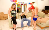 Bangbros Network Jonny Deep Sank His Dick On One Of The Hottest Girls In His Birthday, Not Only In His Pussy, But Also In Her Asshole. Unimaginable Possiton!!! Check It Out!!!