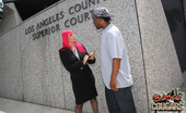 Blacks On Cougars Raven Black Cougar Lawyer Fucks 3 Black Clients Interracial