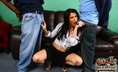 Blacks On Cougars Kendra Secrets Hot Cougar MILF Fucks 2 Young Blacks Interracial