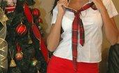 La Zona Modelos 172882 Danni Makes Sure That You Have A Merry Xmas!