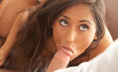 Joy Mii Jessy & Reena FUCK ME HARD Andrej Lupin Reena is sexy and horny and wants to be fucked. She goes down on him, but doesn't need to. He's hard and ready to go. First from behind, then on top, Reena wastes no time getting what she wants from him, and Jessy is happy to give it to her.