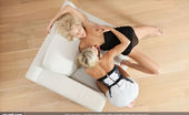 Joy Mii Anneli & Lara Pure Sensuality FEMJOY Exclusive These two lovely, sexy blonde babes love to be sensual... especially with each other. Anneli and Lara, both as beautiful as can be, really get off on getting each other off. Whether it be licking each others sweet, smooth pussies or using