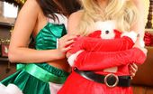 Only Opaques Natalia Natalia And Alana Tease Each Other Out Of Their Kinky Christmas Outfits.