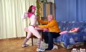 Old Farts Young Tarts Mireck & Kristina Eighty Year Old Grandpa Seduces A Cute Teenage Waitress