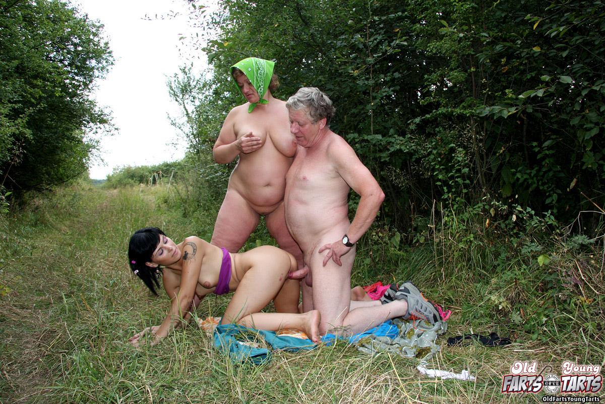 senior couple porn