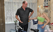 Old Farts Young Tarts Kelly The Bike Fixer Fucked By One Of His Sexy Clients Hardcore