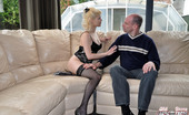 Old Farts Young Tarts Kelly A Blonde Porn Star Shagging An Old Horny Senior Hardcore