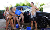 My Sister's Hot Friend Mia Malkova Capri Cavanni Lexi Belle Mia Malkova &Amp; Rachel Roxxx Are Cleaning A Car When They Get Carried Away And Horny. So They Decide To Fuck One Lucky Guy In Fivesome!