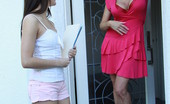 Cougars Crave Kittens Darla Crane & Shyla Jennings Ginger Lesbian Darla Crane Scissor-Fucks The Cutest Kitten Ever.